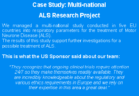 ALS case Study